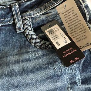 Miss Me Capri Jeans size 29